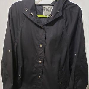 BB Dakota Black Stylish Coat w/hood